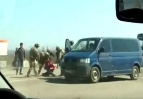 ВСБУ сообщили озадержании сепаратиста налинии разграничения