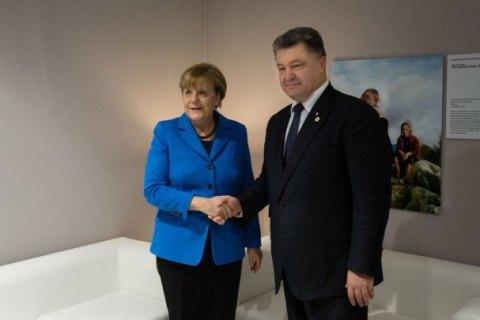 Порошенко 9-10мая встретится сМеркель, Макроном иТуском вГермании