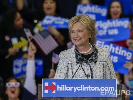 Клинтон считает действия директора ФБР Джеймса Коми предпосылкой поражения навыборах