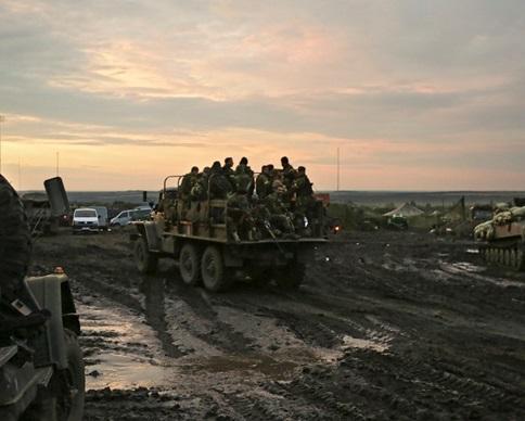 Госпогранслужба: Для отправки вСирию отобрали 600 донбасских боевиков