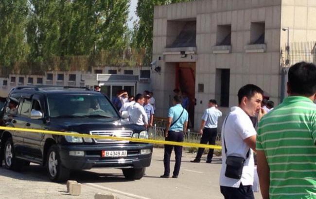 Взрыв произошел натерритории посольства Китая вБишкеке