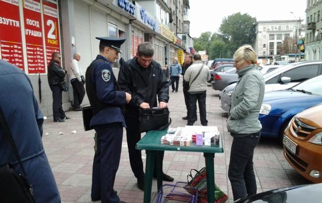 Борьба с контрафактом в Харькове