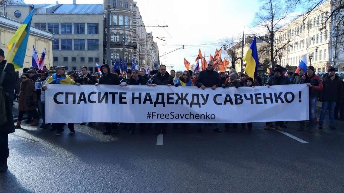 Адвокат Савченко призвал квсемирной акции вееподдержку