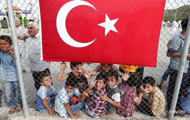 Турция отправляет вЕС только неграмотных ибольных беженцев