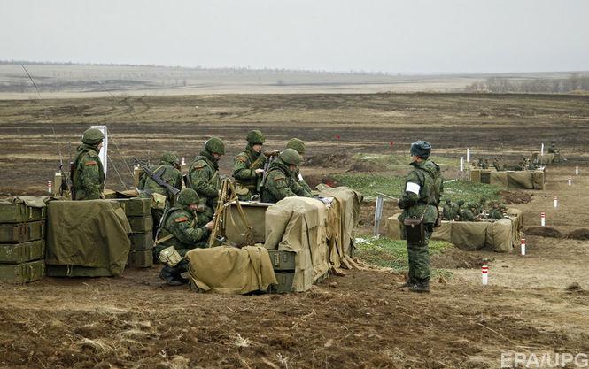 За некоторое количество дней врайоне АТО погибли восемь русских военных