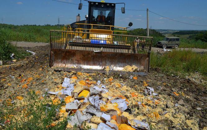 Руководство продлило срок уничтожения санкционной продукции до 2018-ого