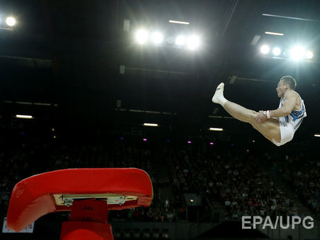 Благодаря необычайному прыжку Радивилова, Украина вошла висторию гимнастики