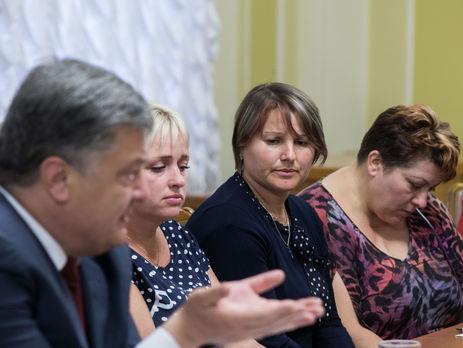 Порошенко: Освобождение украинских заложников зависит от Российской Федерации