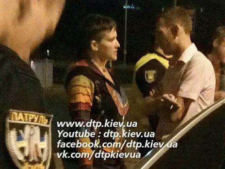 Надежда Савченко угодила в трагедию вКиеве