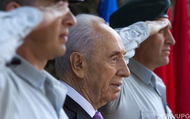Экс-президент Израиля Шимон Перес введён всостояние искусственной комы