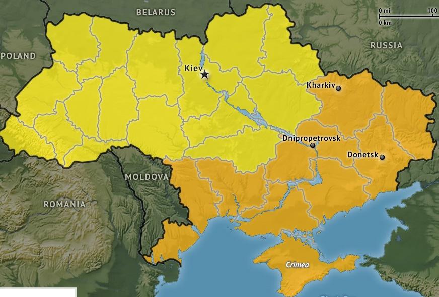 В2017 году 18 областей Украины будут дотационными