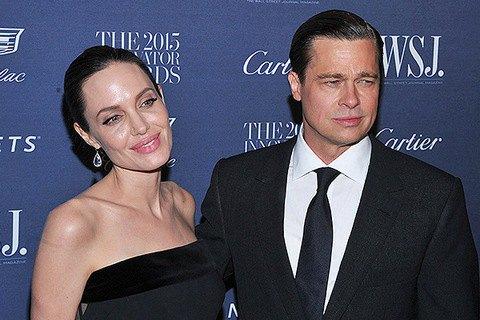 Анджелина Джоли подала наразвод сБрэдом Питтом
