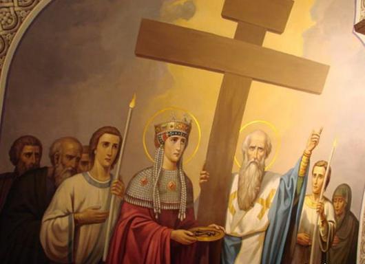 ВСтаврополе прошел Крестный ход сосвященным вИерусалиме Крестом