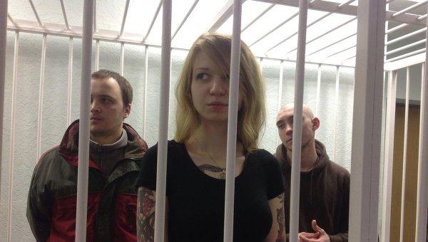 Скандал насуде над неонацисткой Заверухой: подозреваемых отпустили ивновь задержали
