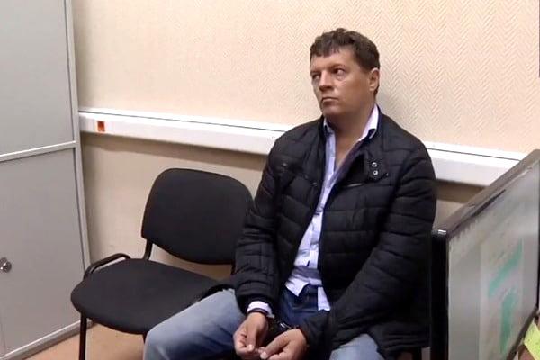 В столице бросили зарешетку украинского корреспондента